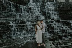 Niagara On The Lake Waterfall Engagement Session-Ally & Nicholas Photography