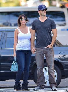 With her guy: Jennifer started dating her The Client List co-star Brian Hallisay in 2012 a...