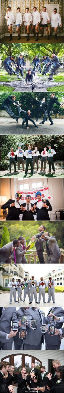 funny groomsmen wedding photo ideas / http://www.deerpearlflowers.com/fun-groomsmen-photo-ideas-and-poses/ #weddingplanningfunny #WeddingPhotographyPoses