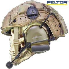 Peltor ARC mount on an Ops-Core rail