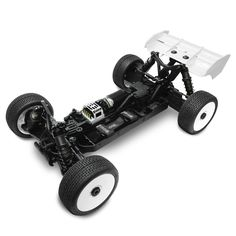 Tekno EB48.3. EB48.3 1/8TH COMPETITION ELECTRIC BUGGY KIT  EB48.3 New Features:- Completely redesigned suspension geometry- New front arms- New rear arms- New front and rear 7075 CNC aluminum shock towers- New extra long shocks for increased suspension travel- New tapered 4 x 1.8mm shock pistons- New clamping spring perches with captured shock boots- New rear hubs- New trailing front spindles and spindle carriers- New V2 hinge pin braces and inserts- Low...