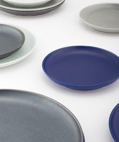 KIHARA online shop Assiette ronde. Il y a quatre tailles jusqu'à 14.5cm ~ 27cm. Teintes chics, texture mate