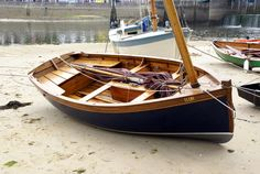 Viviers Ilur. Kits available from Clint Chase Boat Builder