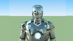 **First look/render!!** Iron Man MK. II - 3D Warehouse
