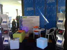 Nuestro stand en el Meeting & Incentive Summit con mobiliario de diseño, moqueta sostenible, luz y color. http://flic.kr/p/ee7Twf