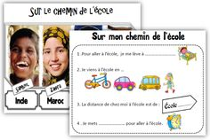 sur le chemin de l'école dossier Film D, French Movies, Cinema Theatre, Teacher Organization, Grade 3, Continents, Discovery, Around The Worlds, Teaching