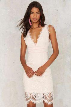 Rest My Lace Midi Dress