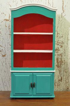 Birds on kitchen utensils art print modern kitchen decor for Teal and red kitchen