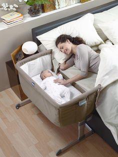 The Chicco Next 2 Me Crib lets you sleep with your baby by your side without the risks of sharing a bed. Close sleeping gives your little one the reassurance of your presence and also lets you breastfeed in the night with no fuss, ensuring your bond grows stronger and your nights are more peaceful. Sleeping in the same room (but not in the same bed) also reduces the risk of SIDS.The crib has 6 height settings so it can perfectly match the height of your bed and then attaches using 2 straps…