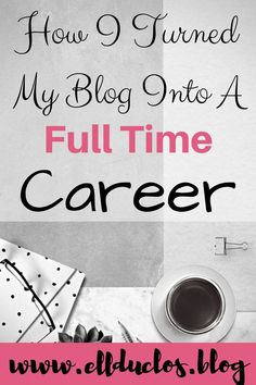 I was able to turn my blog into a full time career in just 6 months! From affiliate market to sponsored posts and more. Learn how you can turn your blog into a career too!