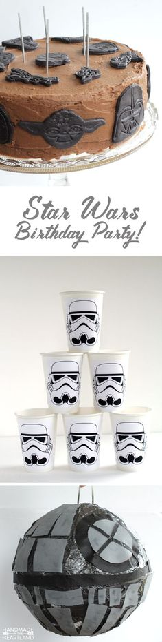 Star Wars Birthday Party   from Handmade in the Heartland --- Lots of DiY party ideas!