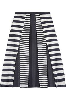 Michael Kors pleated wool and silk-blend skirt | THE OUTNET #Work