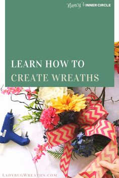 Have a desire to create wreaths?     I can teach you by sharing dozens of full video tutorials, my secret vendor list, Etsy Intensives, and a ton of other training resources I have developed. Visit http://www.bestofnancy.com/?utm_campaign=coschedule&utm_source=pinterest&utm_medium=Ladybug%20Wreaths&utm_content=Best%20Of%20Nancy%20%7C%20For%20Artisans%20of%20Handmade%20Goods to take the next step in becoming a wreath designer!!