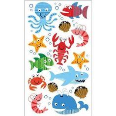 Amazon.com: Sticko Sea Life Fun Stickers: Arts, Crafts & Sewing