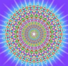 Como sabemos, la función de un Mándala es conectar a la persona con su esencia más profunda, equilibrar su centro y armonizar sus emociones. El siguiente mándala nos ayuda a liberar bloqueos energéticos formados por emociones negativas acumuladas durante la vida. Concentrarse en la imagen 30 segundos como mínimo repitiendo las palabras Salud y Felicidad , hacerlo tres veces por día. Efectivo !....Sentirán bienestar en todo su cuerpo Maestro César Ramírez T. www.medicinachinayogaperu.com