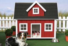 Red Luxury Dog House