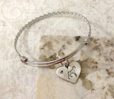 Boxer Dog Hand Stamped Silver Expandable Bangle Bracelet - Alex and Ani Inspired by lilybrookevintage on Etsy https://www.etsy.com/listing/210528250/boxer-dog-hand-stamped-silver-expandable