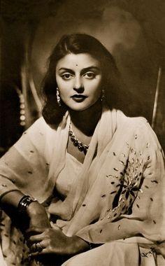 Maharani Gayatri Devi, the last queen of Jaipur, Rajasthan, India