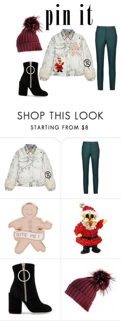 """Pins With Personality"" by turqoiseninja ❤ liked on Polyvore featuring Gucci, Raoul, Off-White and Black"