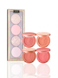 Tarte Holiday 2015   Tarte At First Blush Deluxe Amazonian Clay Blush Set $35 Exclusively at Ulta, Macys, and TarteCosmetics.com