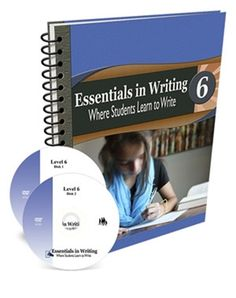 All Essentials in Writing courses include an instructional video and a textbook/workbook. Essentials in Writing is a complete grammar and composition curriculum for students in grades Writing Curriculum, Writing Lessons, Homeschool Curriculum, Writing Skills, Homeschooling, Middle School Writing, In Writing, Essay Writing, Learning To Write