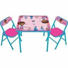 Doc McStuffins Erasable Activity Table And Chair Set By Kids Only, Http://