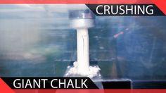 Crushing Giant Chalk | Will It Crush? Crushes, Videos