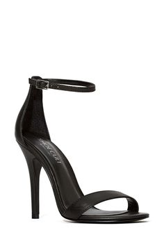 Shoe Cult Adore Leather Sandal   Shop Shoes at Nasty Gal
