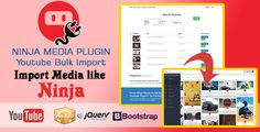 Ninja Media Bulk Youtube Importer Plugin  free download    Ninja Media Script – Viral Fun Media Sharing Site Is a powerful running a VIRAL ...