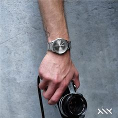 LEFF amsterdam | tube watch S42 Steel.