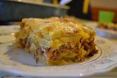 musaka :D Serbian food, love it