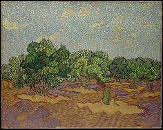 Vincent van Gogh. Olive Trees, 1889