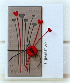 CAS223 TLC432 Hearts by Biggan - Cards and Paper Crafts at Splitcoaststampers