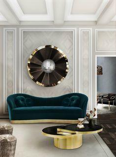 Hochwertige Möbel  Designer Möbel   Messing Beistelltisch   Modernes ...