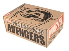 New Subscription Box - Marvel Collector Corps! Box