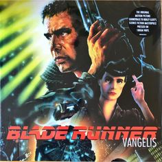 One of the greatest albums of Ambient music I've ever heard in my life. Blade Runner Soundtrack-Vangelis by hbkprod Vinyl Music, Music Tv, Sell Music, Music Albums, Blade Runner Soundtrack, Philip K Dick, Edward James, Indiana Jones Films, Film Noir
