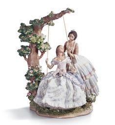 A Quiet Conversation, Lladro porcelain, $3,700.00