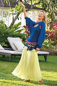 BoHo Plus-Size Skirts @ Elegant Plus