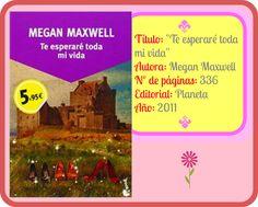 """Ficha """"Te esperaré toda mi vida"""", Megan Maxwell"""