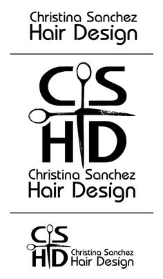 Steph Calvert rules! She designed the branding logo for Christina Sanchez Hair Design as well as a custom #facebook landing page in which from a smart phone you can connect and phone the salon. (gods&heros)   http://www.heartsandlaserbeams.com/2012/02/28/freelance-graphic-design-christina-sanchez-hair-design-logo/