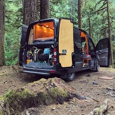 I want to build my own diy camper van conversion and try out #vanlife this mercedes sprinter van is the ultimate travel adventure camper. It has a great layout complete with kitchen and bathroom! Cool design and lots of tips and advice to build your own campervan.