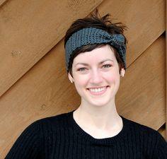 Ravelry: Easy Knotted Crochet Headband pattern by Rachel B. Brown