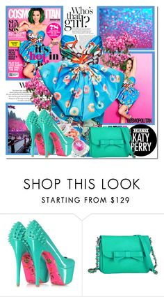 """""""Dress Katy Perry for the Super Bowl"""" by antemore-765 ❤ liked on Polyvore featuring Seed Design, Moschino, Betsey Johnson, Knights and Roses and Miadora"""