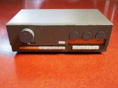 The Quad 33 preamplifier is 50 years old, now. It was introduced by Quad Electroacoustics in 1967 (to partner the 303 power amp) and units were reportedly manufactured over 15 years. The Qu… 50 Years Old, 15 Years, Radio Design, Dieter Rams, Olympus Digital Camera, Quad, Restoration, Audio, Speakers