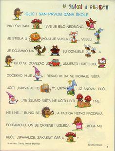 Portal za djecu, roditelje, učitelje, odgojitelje.. Summer Fun For Kids, Cool Kids, Croatian Language, Kids Library, Photo Story, Kids Education, Story Time, Worksheets, Poems