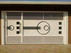 Gate Wall Design, Grill Gate Design, House Main Gates Design, Steel Gate Design, Front Gate Design, Garage Door Design, Main Door Design, Iron Main Gate Design, Gate Designs Modern