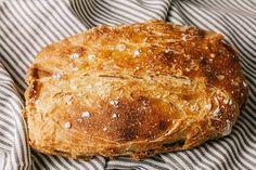 Brot backen - Rezept für selbst gebackenes Brot mit Dinkelvollkornmehl