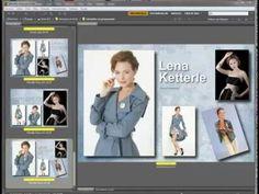 Crear plantillas para fotos (orlas, composites, etc.) - YouTube