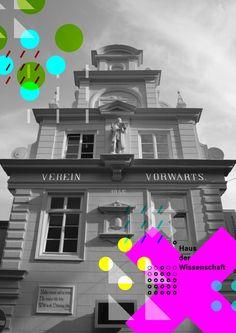 Haus der Wissenschaft Bremen Corporate Design, Web Design, Science, Movie Posters, Bremen, German, House, Design Web, Film Poster
