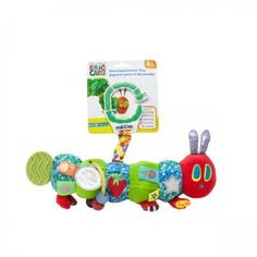 Rainbow Designs THE VERY HUNGRY CATERPILLAR WOODEN PEG PUZZLE Toddler//Baby BN